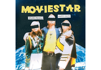 Moviestar - Stupid People Happy Days - (CD)