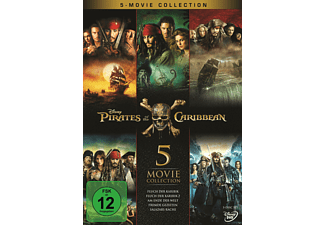 Pirates of the Caribbean 1 - 5 - (DVD)