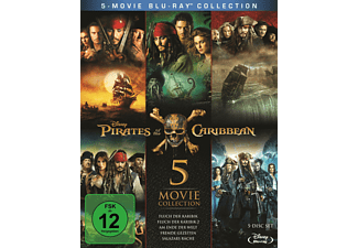 Pirates of the Caribbean 1 - 5 - (Blu-ray)
