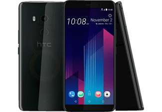 HTC U11 Plus, Smartphone, 128 GB, Translucent Black