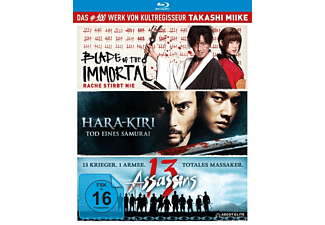 Takashi Miike - Box - 13 Assassins, Hara-Kiri: Death of a Samurai, Blade of the Immortal) - (Blu-ray)