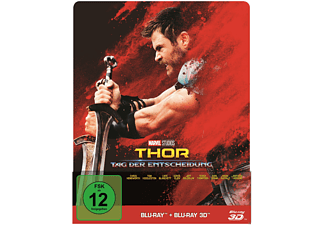 Thor: Tag der Entscheidung Steelbook Edition Action 3D BD&2D BD, Blu-Ray