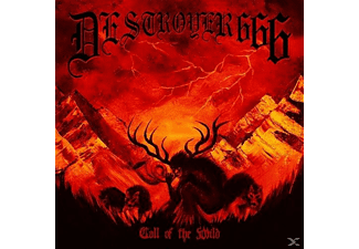 Destroyer 666 - Call Of The Wild (Digipak) - (Maxi Single CD)