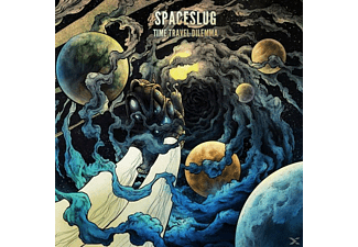 Spaceslug - Time Travel Dilemma (Transparent Blue Vinyl) - (Vinyl)