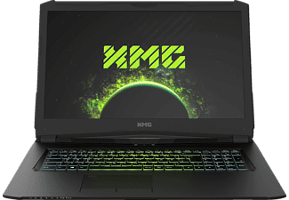 XMG PRO 17 - L17tbr, Gaming Notebook mit 17.3 Zoll Display, Core™ i7 Prozessor, 16 GB RAM, 250 GB SSD, 1 TB HDD, GeForce GTX 1070, Schwarz