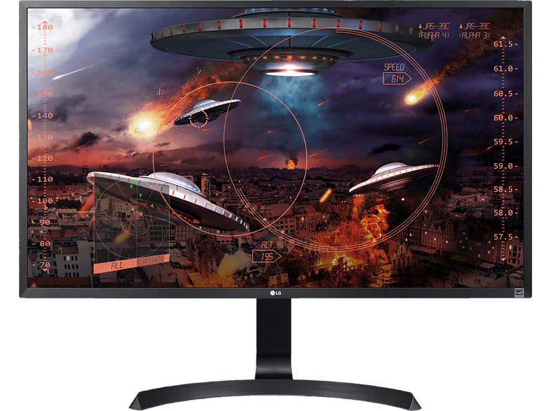 LG 32UD59-B 31.5 Zoll UHD 4K Gaming Monitor (4 ms Reaktionszeit, FreeSync, 60 Hz)