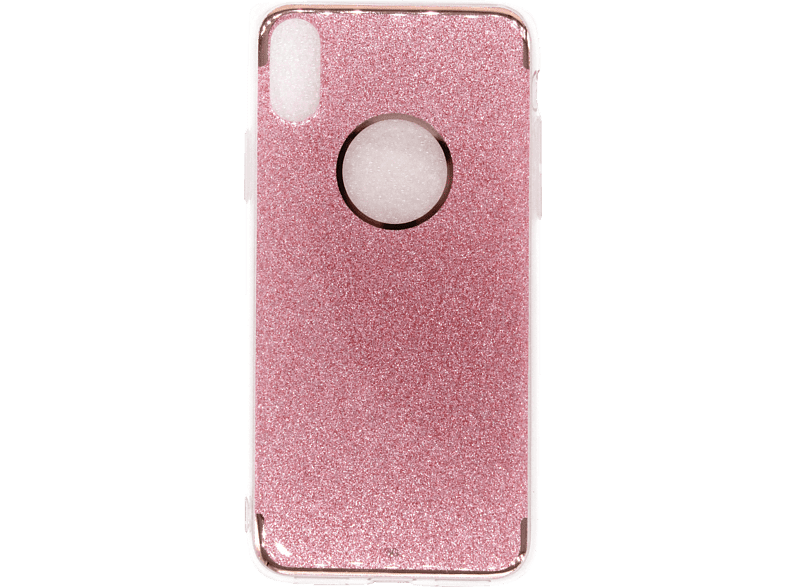 AGM 27059 , Backcover, Apple, iPhone X, Kunststoff, Pink