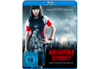 What Happened to Monday - (Blu-ray)