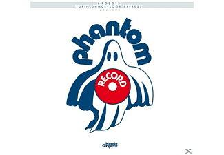 VARIOUS - I-Robots Present Phantom Records - (Vinyl)