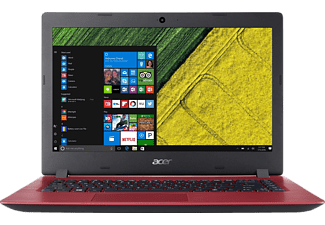 "ACER Aspire 3 A314-31-C0AV piros notebook NX.GTHEU.002 (14"" matt/Celeron/4GB/1TB HDD/Endless OS)"