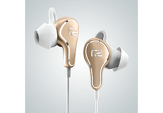 READY2MUSIC In Ear Bluetooth Kopfhörer Titan, gold/weiß