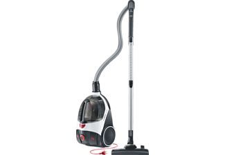 SEVERIN FLOORCARE CY 7086 S`POWER extrem 2.0, Staubsauger ohne Beutel, Weiß/Rot