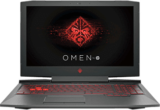 HP Omen 15-ce031ng, Gaming Notebook mit 15.6 Zoll Display, Core™ i5 Prozessor, 8 GB RAM, 1 TB HDD, 128 GB SSD, GeForce® GTX 1050, Schwarz