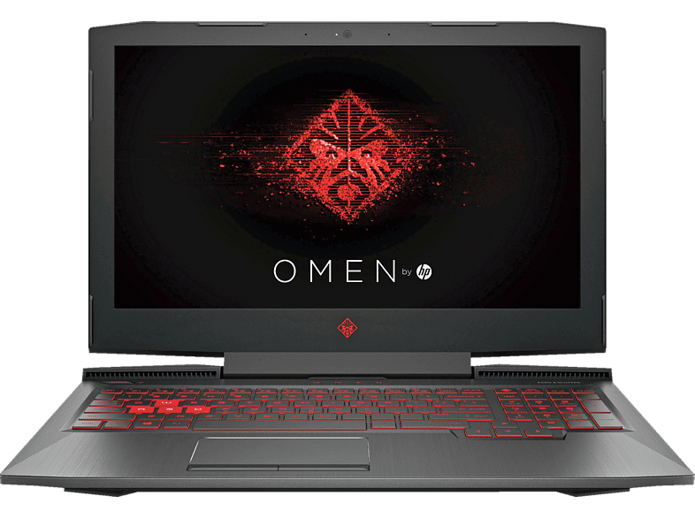 HP Omen 15-ce031ng, Gaming Notebook mit 15.6 Zoll Display, Core™ i5 Prozessor, 8 GB RAM, 1 TB HDD, 128 GB SSD, GeForce GTX 1050, Schwarz