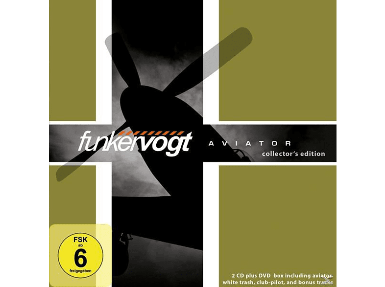 Funker Vogt - Aviator-Collector's Edition [CD]