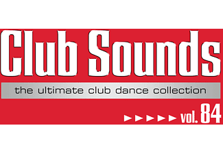 VARIOUS Club Sounds,Vol.84 Electronica/Dance CD