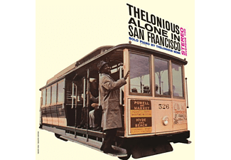 Thelonious Monk Alone in San Francisco Jazz/Blues Vinyl