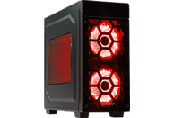 HYRICAN STRIKER 6281 RED, Gaming PC mit Core™ i7 Prozessor, 16 GB RAM, 1 TB SSD, 2 TB HDD, Geforce® RTX 2080 Ti, 11 GB