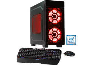 HYRICAN STRIKER-X 5763 RED, Gaming PC mit Core™ i7 Prozessor, 16 GB RAM, 240 GB SSD, 2 TB HDD, GeForce® GTX 1080 Ti, 11 GB GDDR5 Grafikspeicher