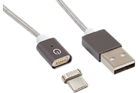REALPOWER Magnetic Tablet C Magnetisches USB-C Sync- und Ladekabel