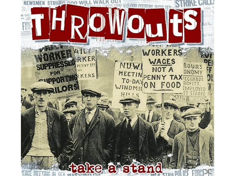 Throwouts - Take A Stand [CD]