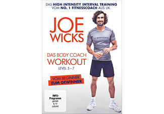 JOE WICKS LEVEL 5-7 BODY COACH WORKOUT - (DVD)