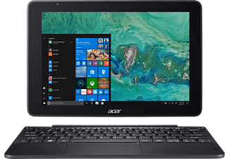 ACER One 10 (S1003-14MH), Convertible mit 10.1 Zoll Display, Atom® Prozessor, 4 GB RAM, 64 GB eMMC, Anthrazit