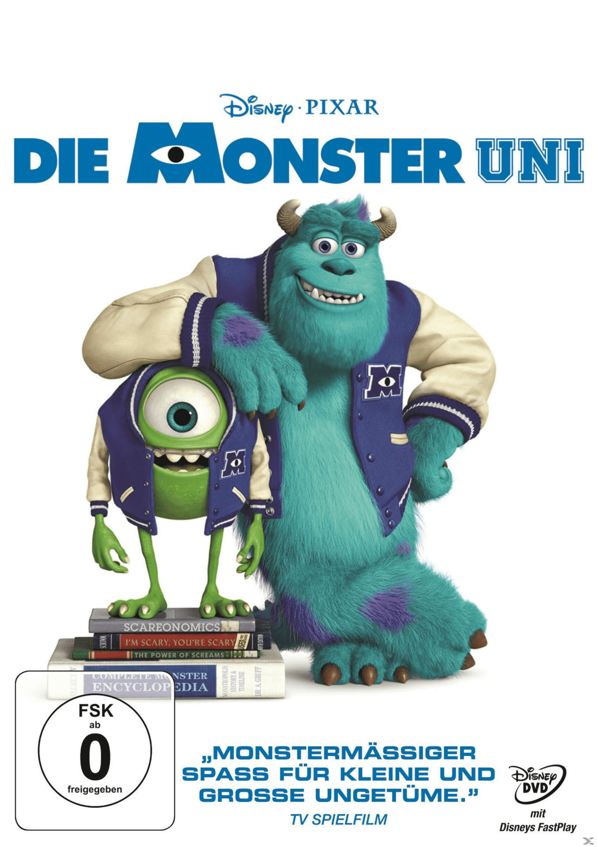 Die Monster Uni - (DVD)