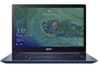 ACER Swift 3 (SF314-52-33VV), Notebook mit 14 Zoll Display, Core™ i3 Prozessor, 4 GB RAM, 128 GB SSD, HD Graphics 620, Stellar Blue