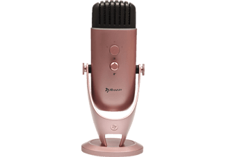 AROZZI Colonna, Desktop-Mikrofon, 3 m, Rose Gold