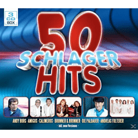 VARIOUS - 50 Schlager Hits [CD]
