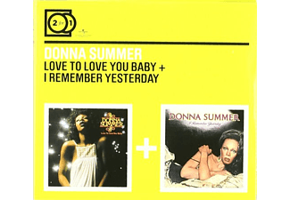 Summer Donna - 2 for 1: Love To Love/I Remember Yesterday (CD)