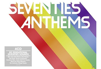 VARIOUS - Seventies Anthems - (CD)