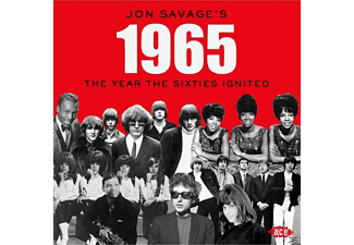 VARIOUS - Jon Savage's 1965-The Year The Sixties Ignited - (CD)