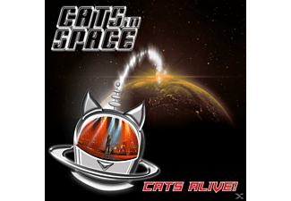 CATS IN SPACE - CATS ALIVE! - (CD)