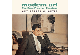 Art Quartet The Pepper - Modern Art-The Russ Freeman Sessions+1 Bonus TR - (CD)
