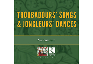 Millenarium, Carole Matras - Troubadours' Songs & Jongleurs' Dances - (CD)