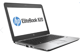 HP EliteBook 820 G3, Notebook mit 12.5 Zoll Display, Core™ i5 Prozessor, 4 GB RAM, 500 GB HDD, HD Graphics 520, Grau