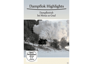 DAMPFLOK HIGHLIGHTS-DAMPFBETRIEB BEI MINUS 20 GRAD - (DVD)