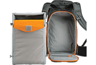 LOWEPRO Whistler BP 450 AW Fotorucksack , Grau/Orange