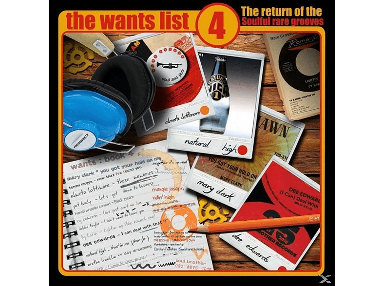 VARIOUS - The Wants List Vol.4 [Vinyl]
