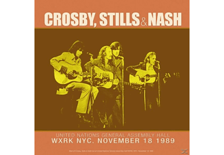 Crosby, Stills & Nash - LIVE AT NEW YORK C - (Vinyl)