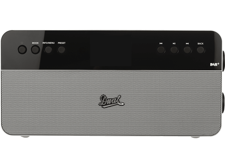 DUAL IR 6S PLUS Internet Radio (Silber)