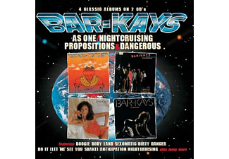 Bar-Kays - As One / Nightcruising / Propositions / Dangerous (CD)