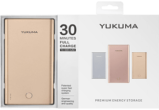 YUKUMA YP-02, Powerbank, Gold