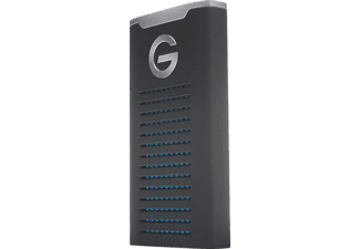 G-TECHNOLOGY G-DRIVE mobile SSD R-Series, 2 TB, Mobiler SSD-Speicher