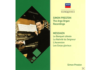 PRESTON SIMON - PRESTON: DIE ARGO AUFNAHMEN-MESSIAEN - (CD)
