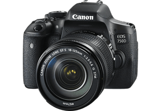 CANON Appareil photo reflex EOS 750D + 18-135mm (0592C002AA)