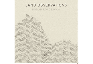 Land Observations - ROMAN ROADS IV-XI (CLEAR VINYL+CD) - (LP + Bonus-CD)