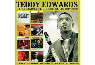 EDWARDS TEDDY - THE COMPLETE RECORDINGS: 1947-1962 - (CD)